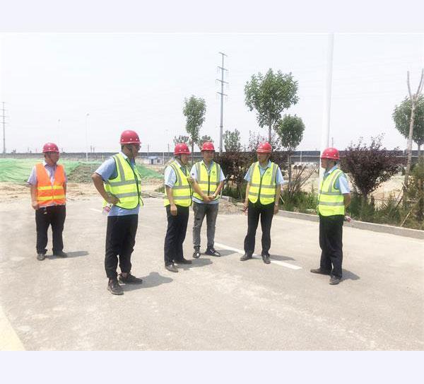 公司董事长吴英彪赴渤海新区视察督导工程项目